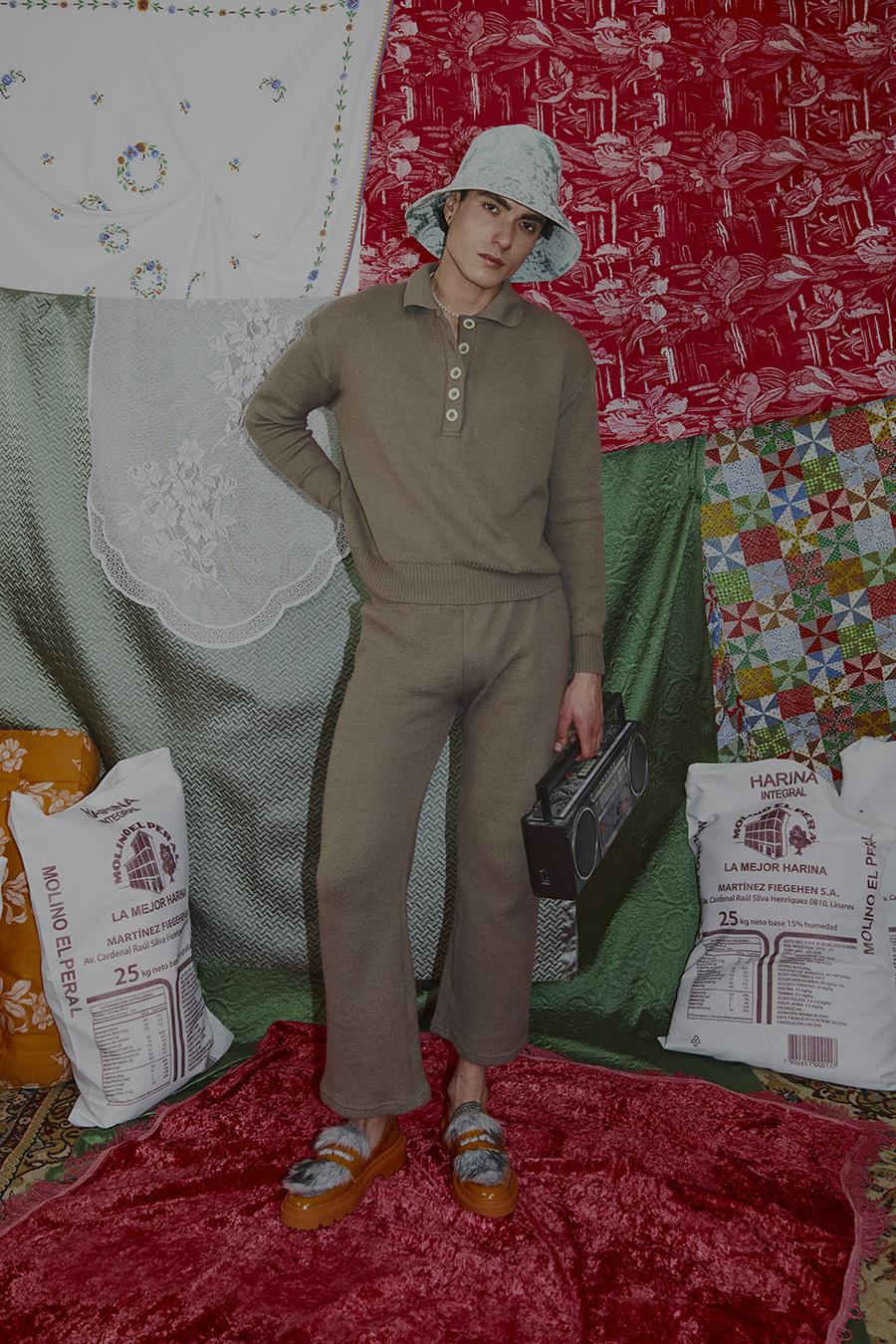 Sweater Nirivilo Taupé