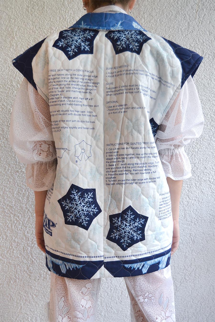 Abrigo Maitén Snowflake